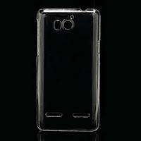 Transparent Clear Crystal Case for Huawei Honor 2 U9508 / Ascend G600 U8950D