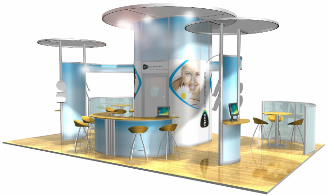 Modular Exhibition Stand System : The of modular exhibition stands
