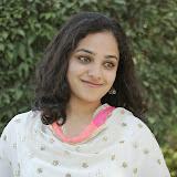 Nitya meenon Latest Photo Gallery in Salwar Kameez at New Movie Opening 3