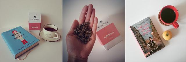Káva z Five Elephant, co právě čtu