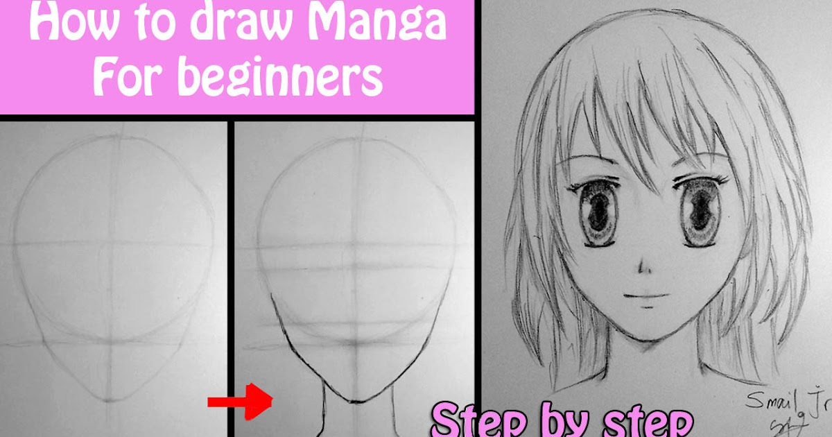 How to draw manga girl for beginners drawings movies for How to draw doodle art for beginners