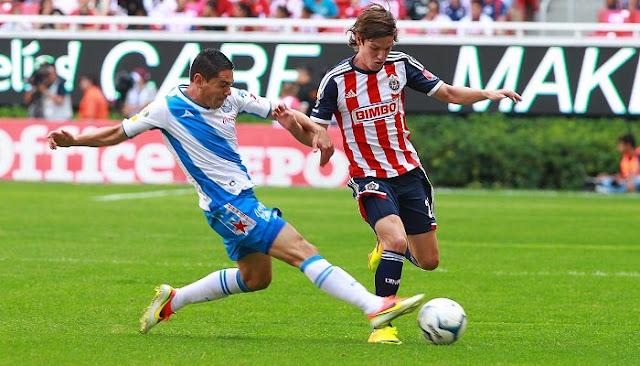 Ver partido Chivas de Guadalajara vs Puebla en vivo