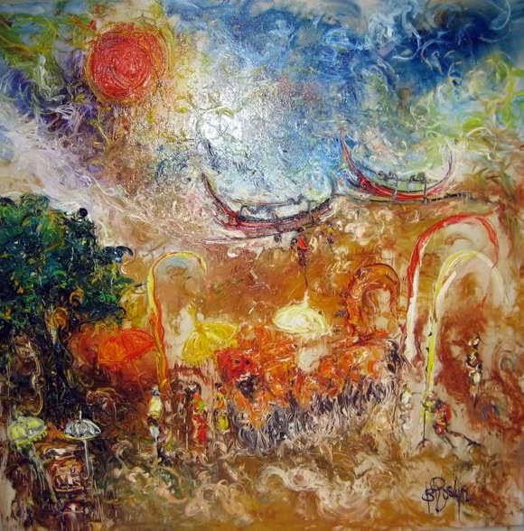 Karya Lukisan Robedi Rosar