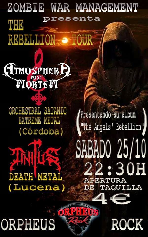ATMOSPHERA POST MORTEM EN CONCIERTO