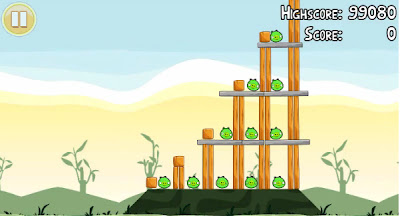 Angry Birds 2-3 Poached Eggs