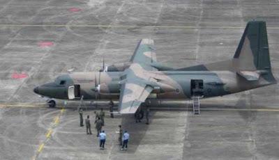 Pesawat Foker 27 Jatuh