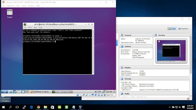 Install Lubuntu 15.04 (Vivid Vervet) Desktop On Windows 10/Virtualbox