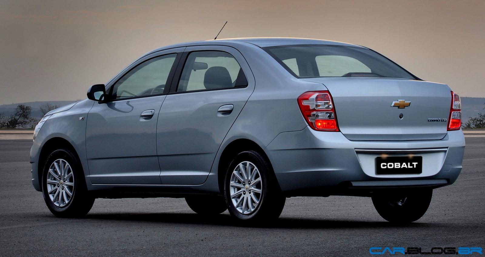 Chevrolet cobalt ltz 2013 perfil traseiro
