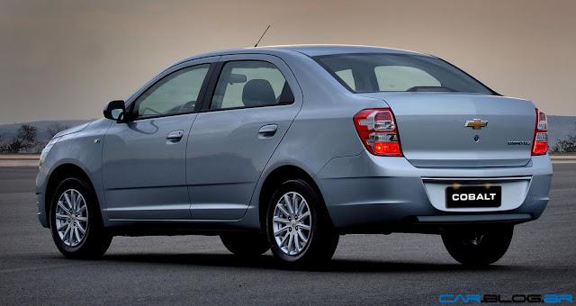 Chevrolet Cobalt LTZ 2013 - perfil traseiro