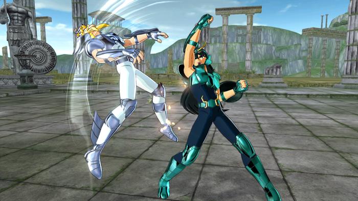Screenshots de Saint Seiya: Brave Soldiers