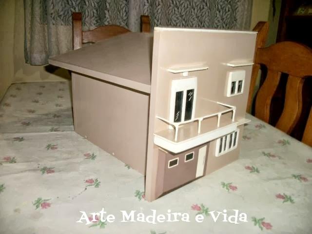 caixa de correio miniatura da casa