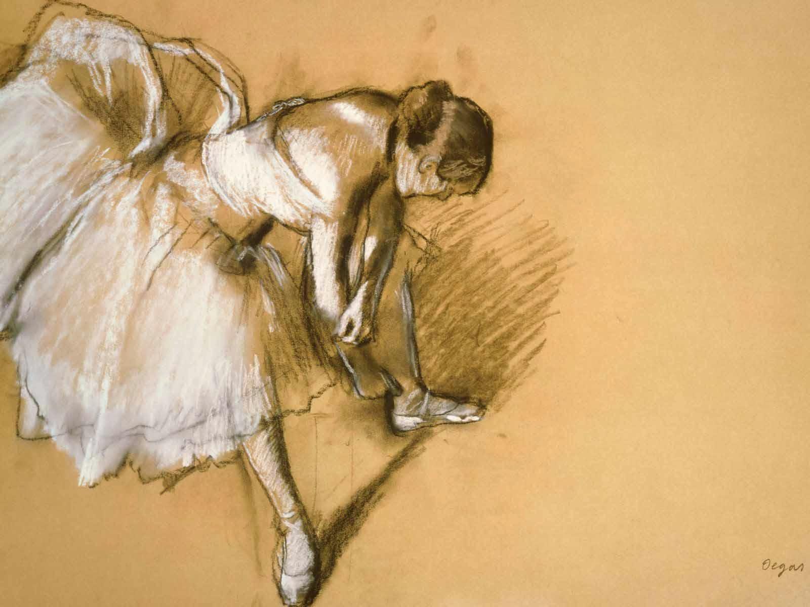 Cole De Danse Edgar Degas Wallpaper - WallDevil