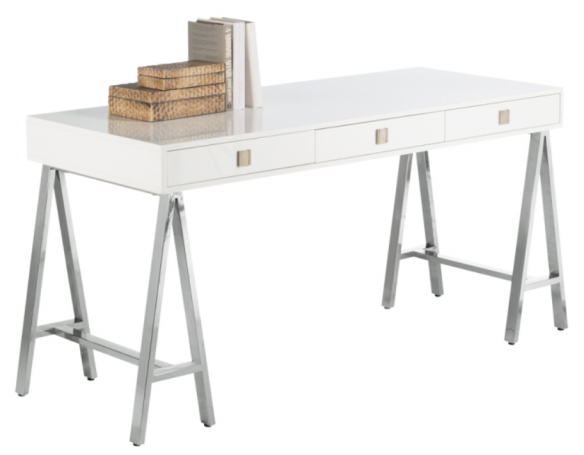and Chic: Fabulous finds- Modern White Desks (In Every Price Range