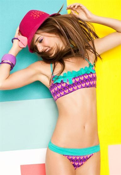 celebrity style agatha ruiz de la prada swimwear