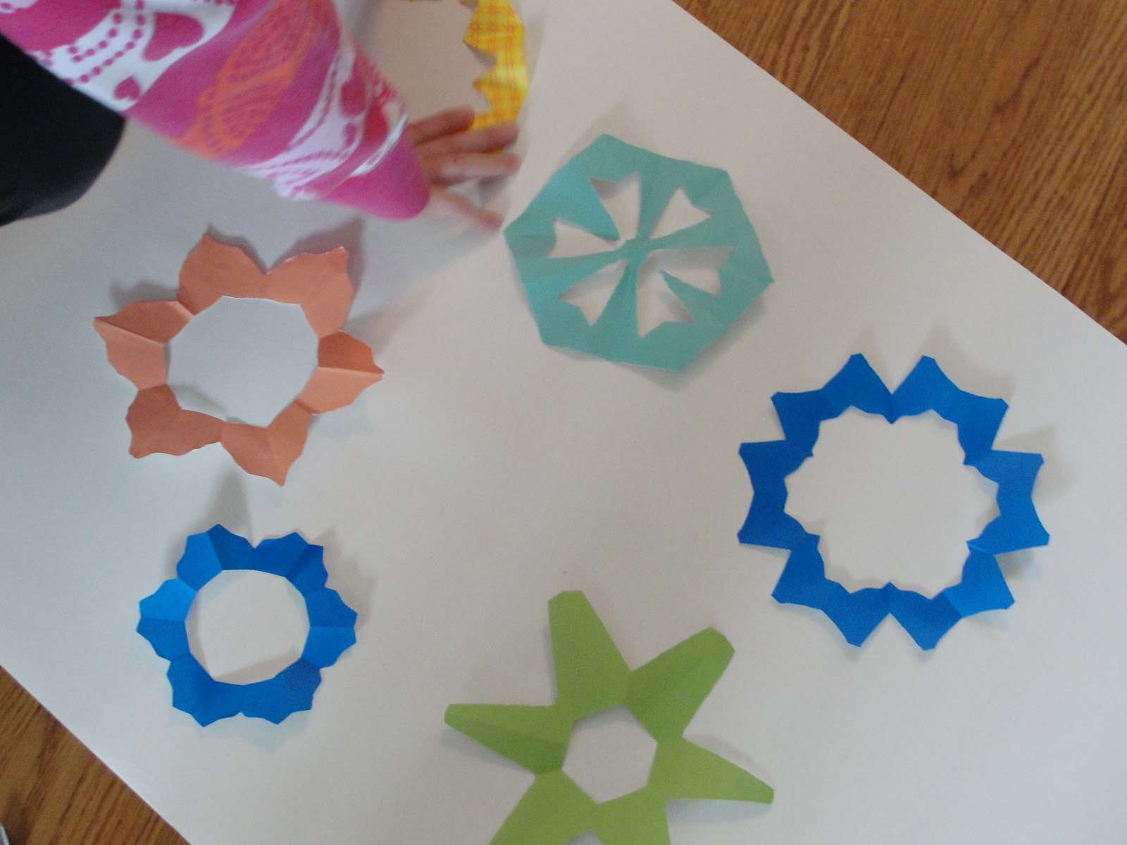 Spring Paper Flowers For Kids To Make