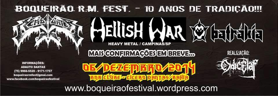 10º Boqueirão Rock Metal Festival