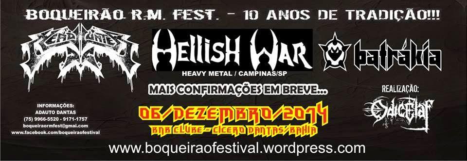 10º Boqueirão Rock Metal Festival