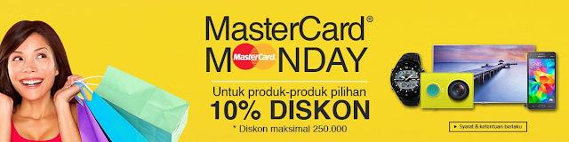 MasterCard Monday