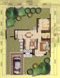 Denah Rumah Type 45 Dengan 3 Kamar