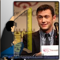What is the height of Joseph Gordon-Levitt?
