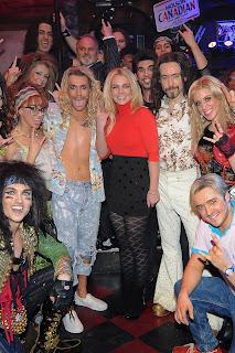 Britney Spears In Black Nylons