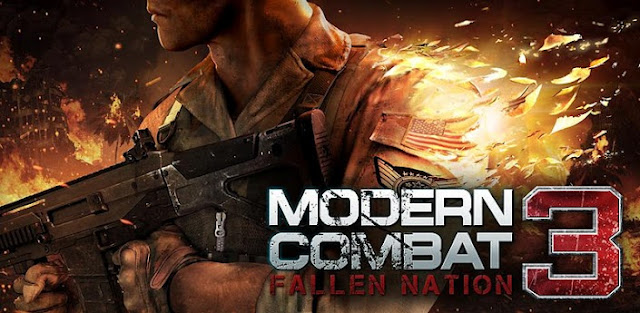 Modern Combat 3 : Fallen Nation 1.1.3 apk+ data