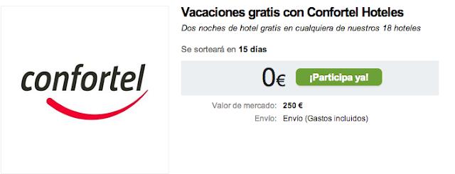 Vacaciones gratis con Confortel Hoteles Dos noches de hotel gratis en cualquiera de nuestros 18 hoteles
