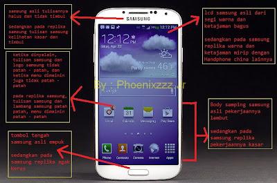 dan mahal tips untuk membedakan handphone samsung asli dan replika