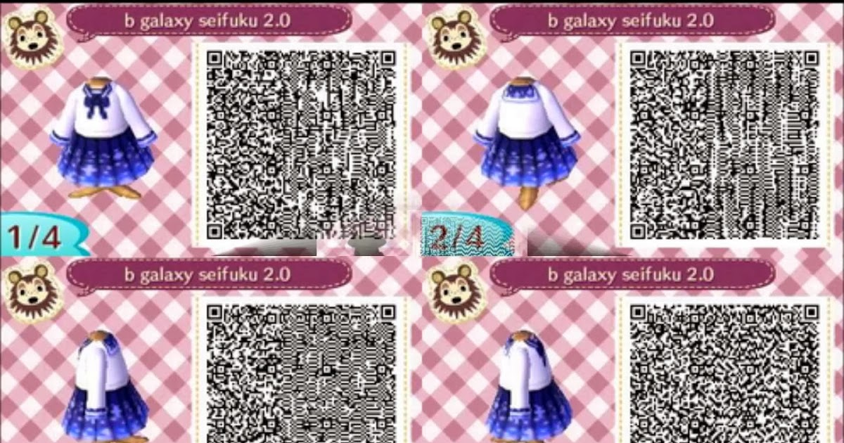 Animal Crossing QR Codes: QR Codes: Pack 2