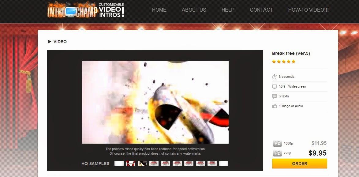 طريقة انشاء مقدمات فيديو احترافية دون الحاجة الى برامج