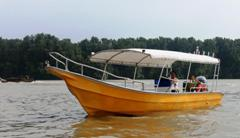 Boat C 85 hp Outboard Engine Boat Min RM200, Max 10 pax