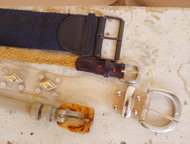 vintage buckle belts
