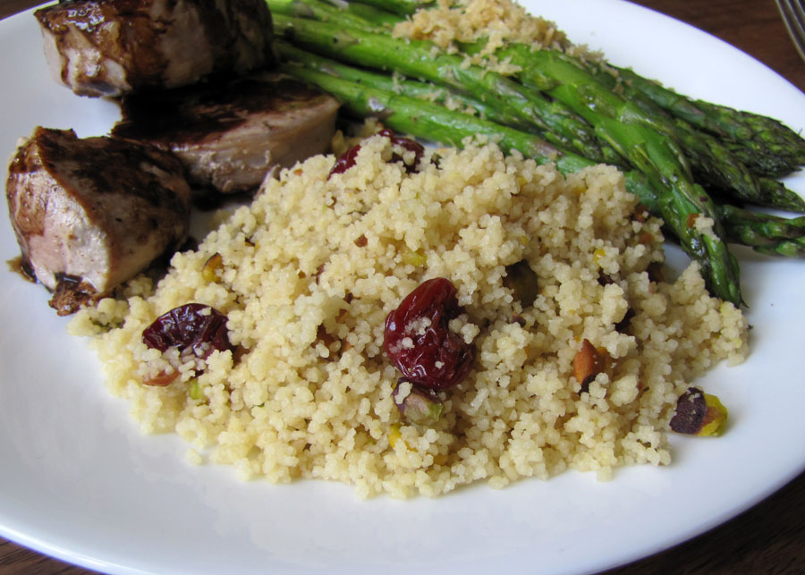 Smells Like Food in Here: Couscous with Roasted Pistachios