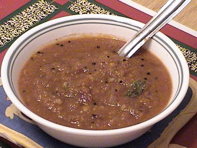 SOUTH INDIAN FOOD VERITIES & PREPARATION: Onion Chutney