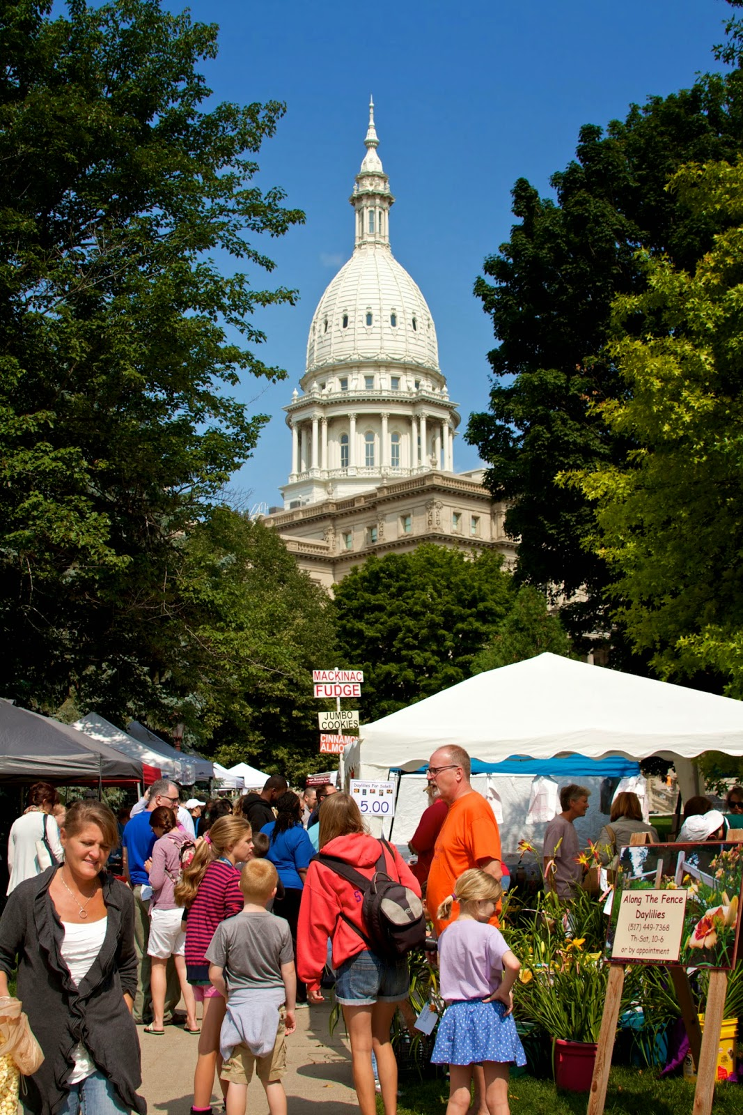 2014 Michigan's Farmers Market at the Capitol. Photos by Tammy Sue Allen Photography.