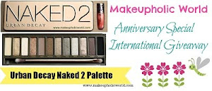 Makeupholic World Anniversary Special Giveaway