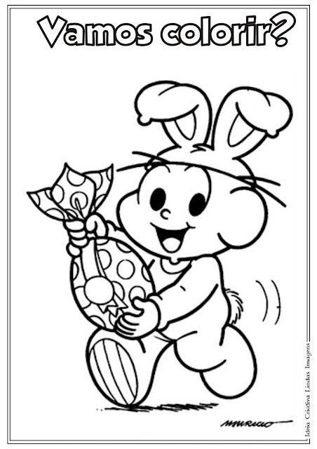 Desenho do Cebolinha para colorir