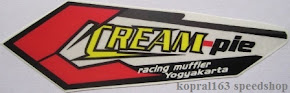 Cream-Pie Racing Muffler