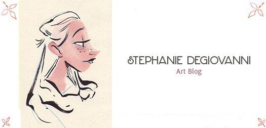 Stephanie DeGiovanni's Art Blog