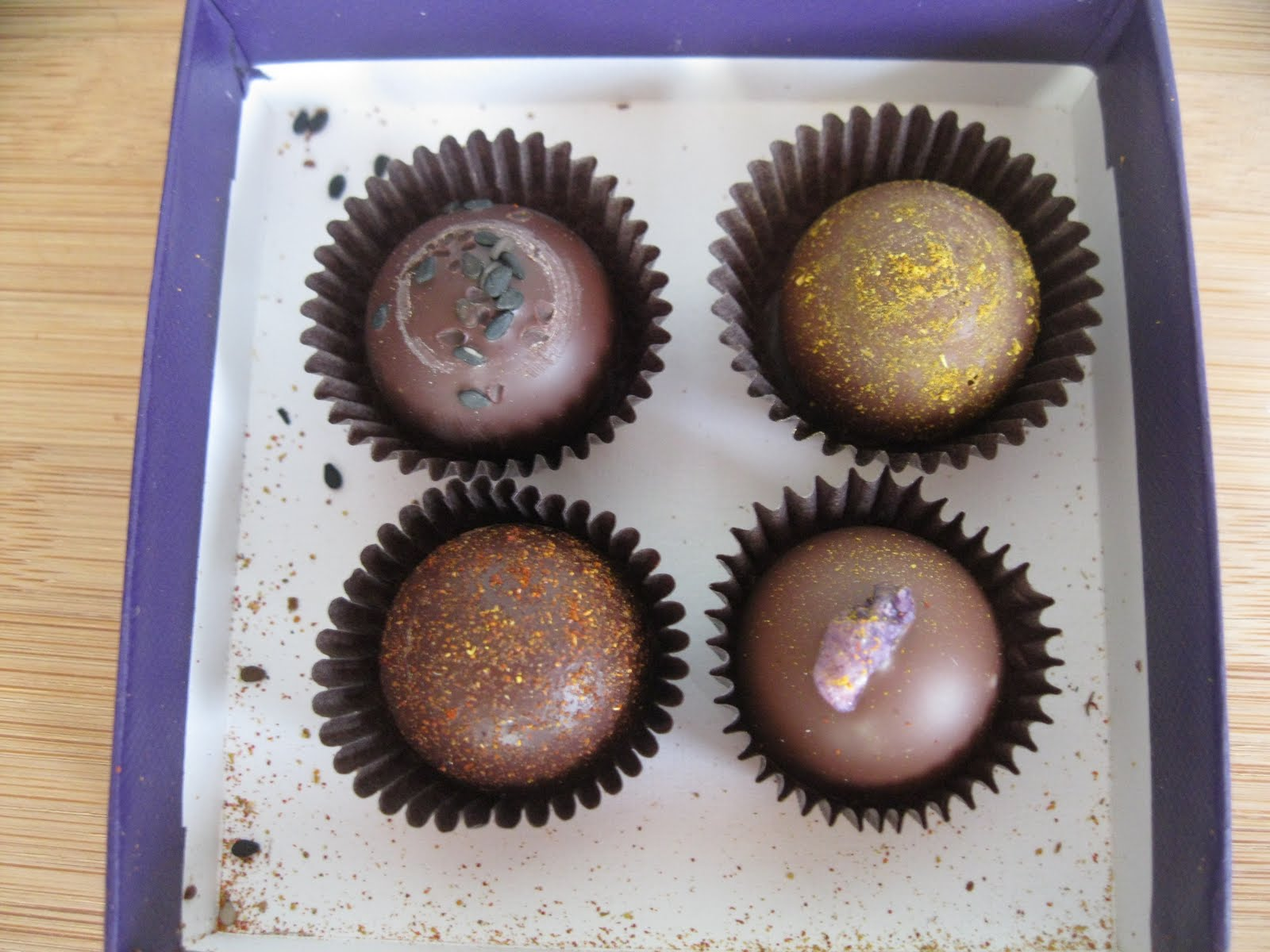 The District Chocoholic: Vosges Truffles: Naga