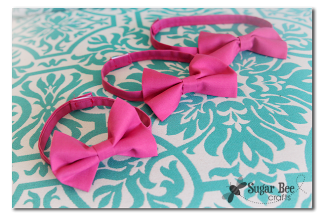 Easy to make boy bow ties