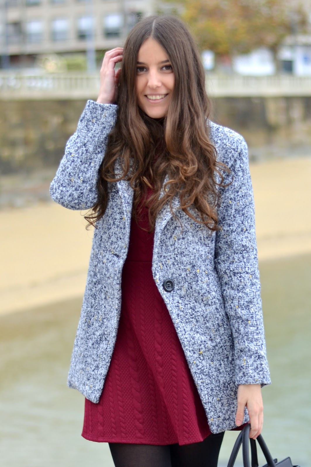 Sheinside grey coat