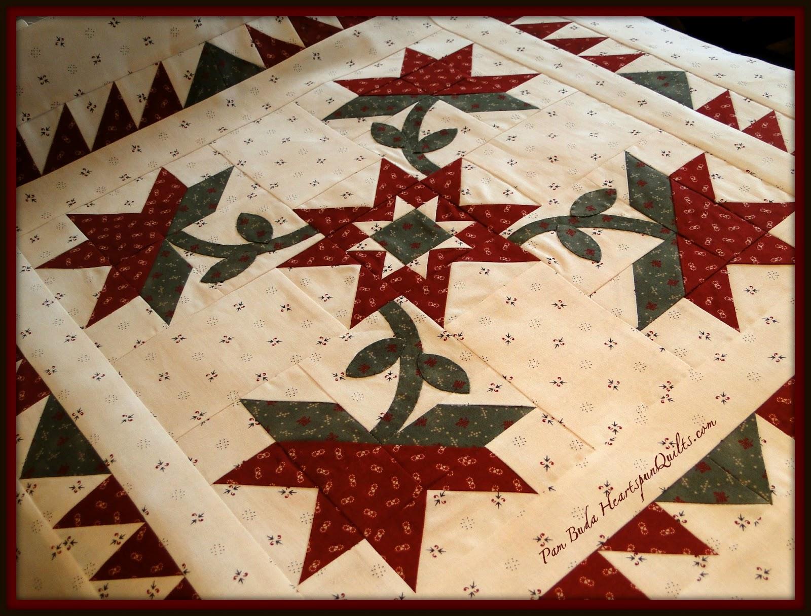 Heartspun Quilts Pam Buda Hope Chest Relics
