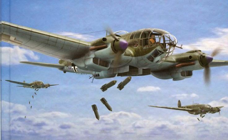 The Heinkel 111 Deliverer Of Spies on January Color By Number