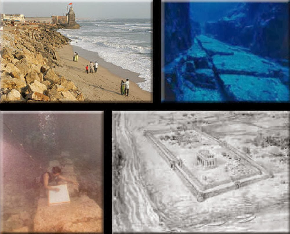 2 HUGE UNDERWATER CITIES FOUND IN INDIA