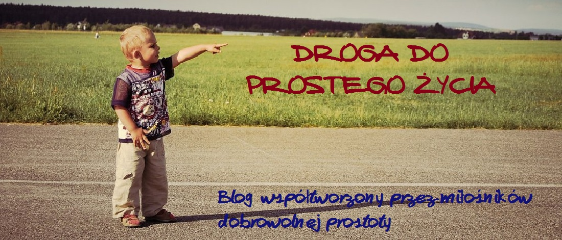 DROGA DO PROSTEGO ŻYCIA