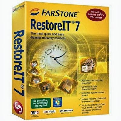 تحميل برنامج FarStone RestoreIT لحذف الفيروسات واصلاح مشاكلها