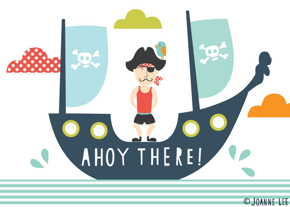 jo-anne lee likes...: Ahoy there...