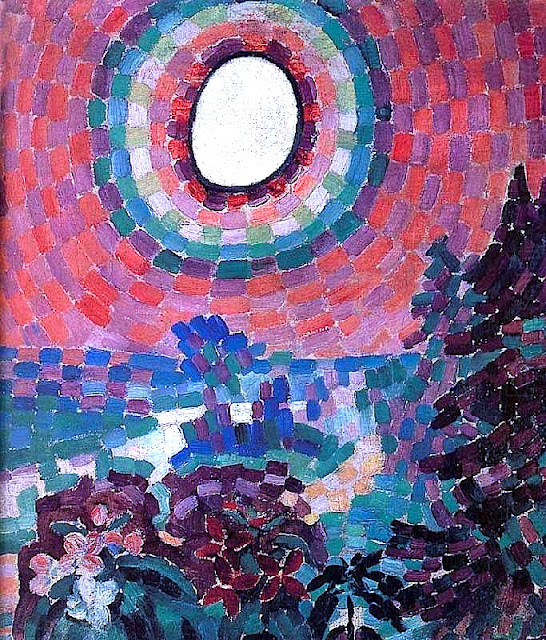 Delaunay simultaneous windows - Arte Orphism Sonia And Robert Delaunay