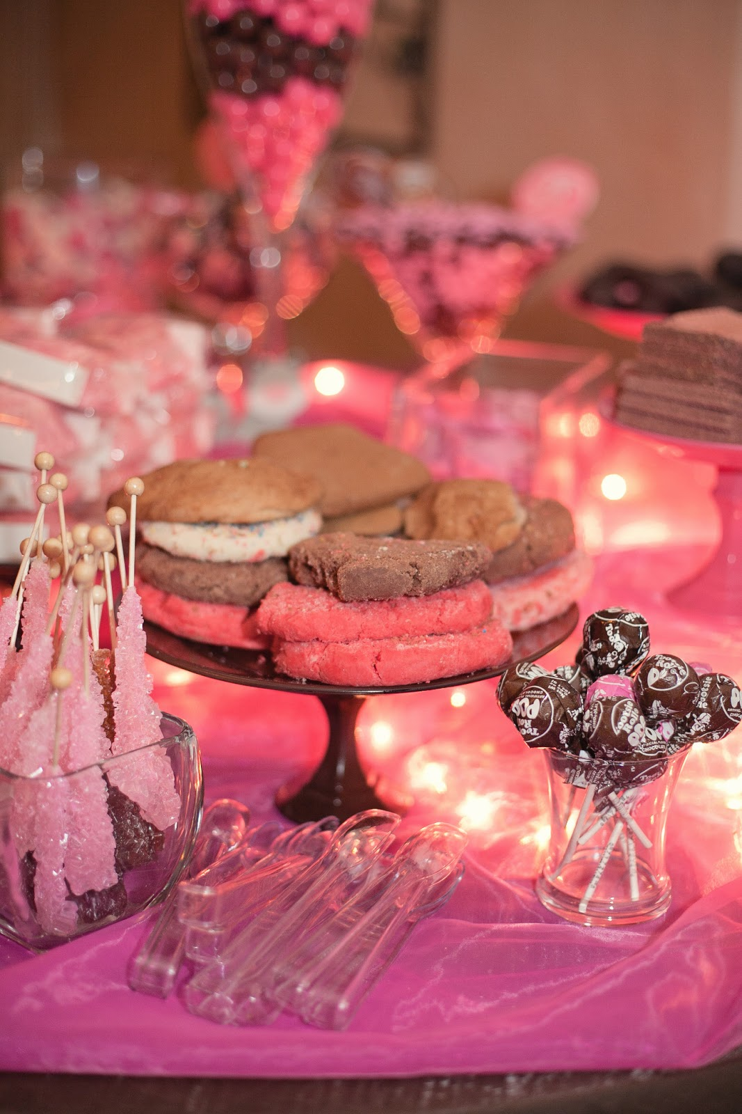 Awe Inspiring The Busy Broad Pink And Brown Candy Buffet Download Free Architecture Designs Rallybritishbridgeorg